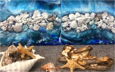 sea-shell painting3